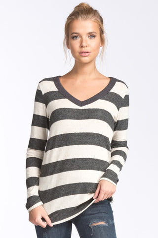 The Megan Striped Sweater