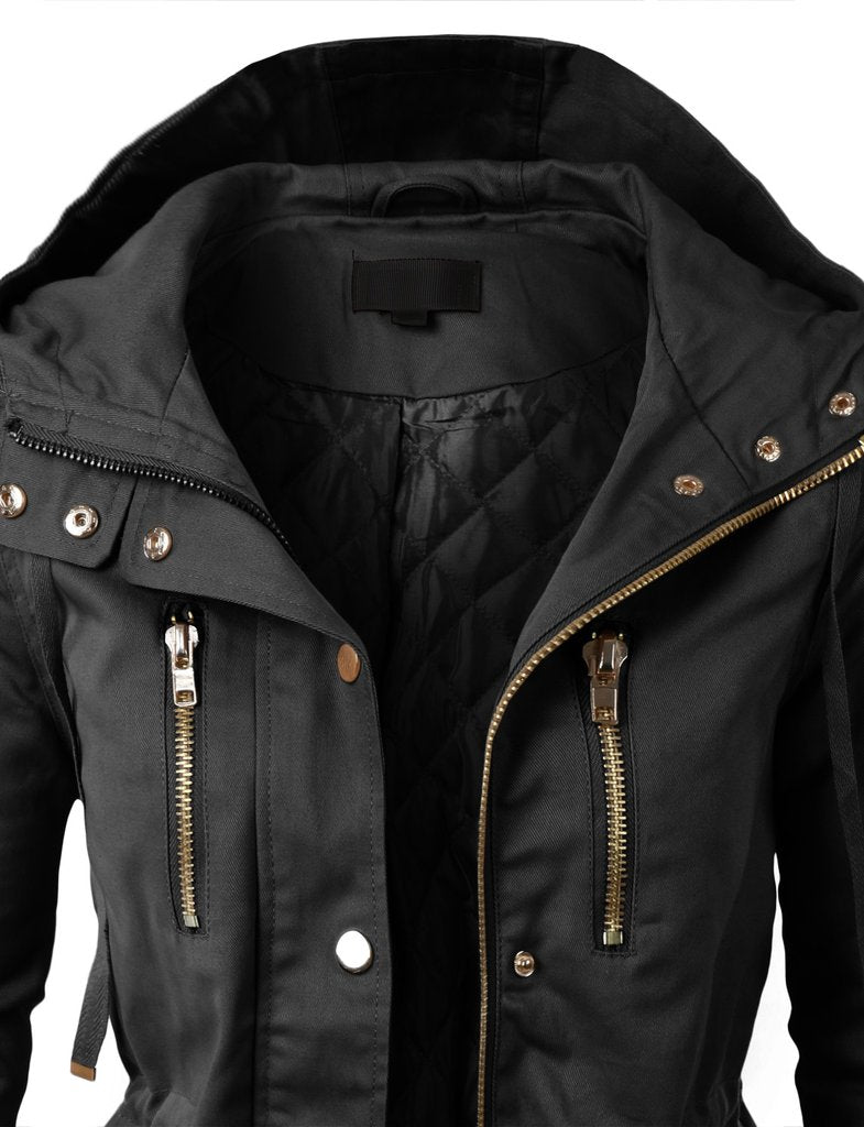 Fully Lined Military Jacket