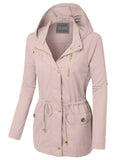 The Olivia Military Jacket - Blush