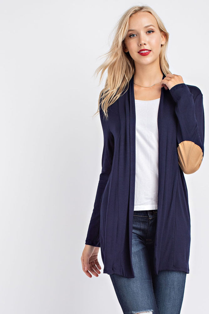 Long Sleeve Cardigan - Black