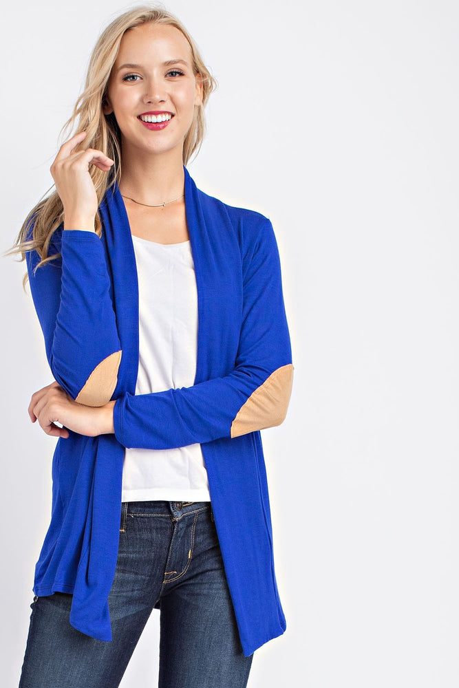 Long Sleeve Cardigan - Royal
