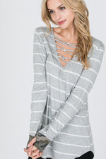 The Missy Striped Top