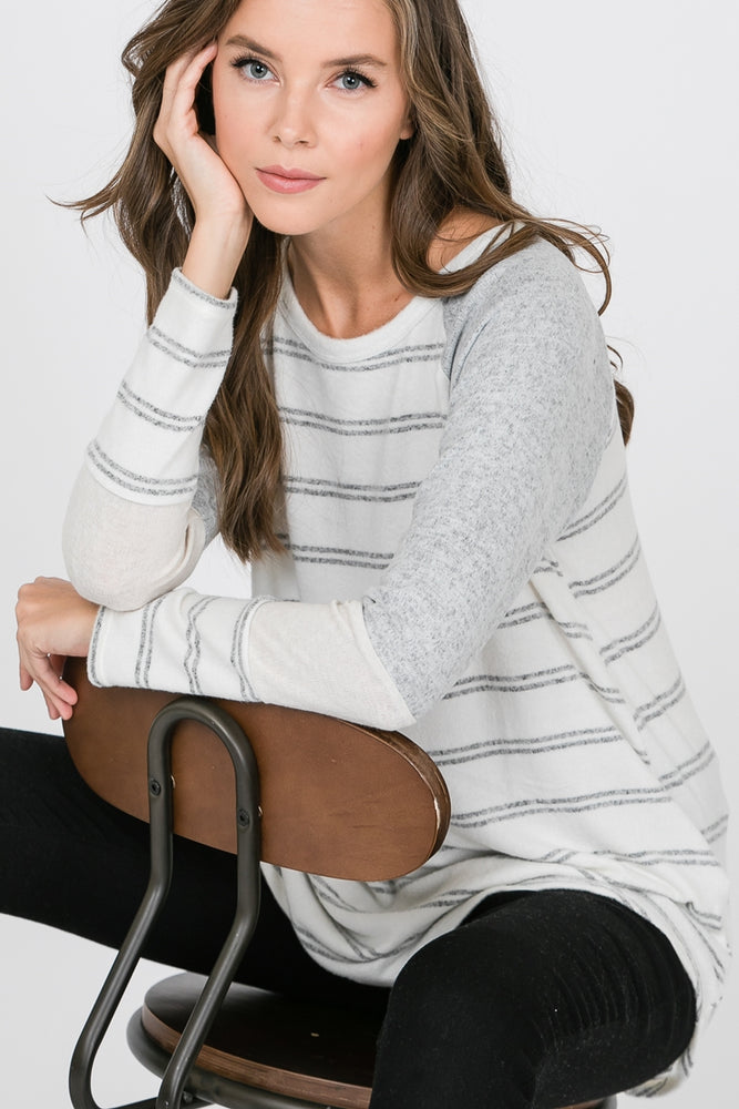 The Allie Striped Top