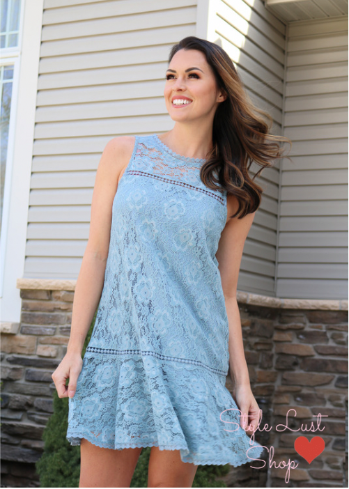 Dreaming Lace Dress