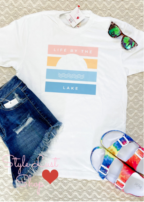 LIfe By the Lake Tee