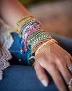 Indian Beaded Bracelets - Set of 3