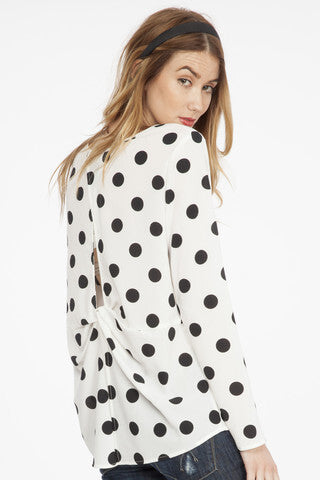 Fabulous in Polka Dots Top