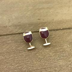 Red Wine Earrings