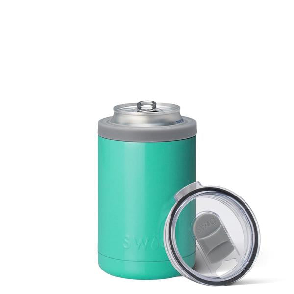 Swig Turquoise 12oz Combo Can Cooler