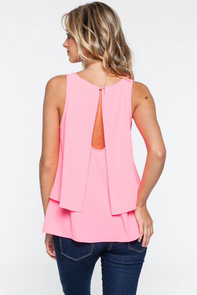 Everly: Pretty in Pink Top