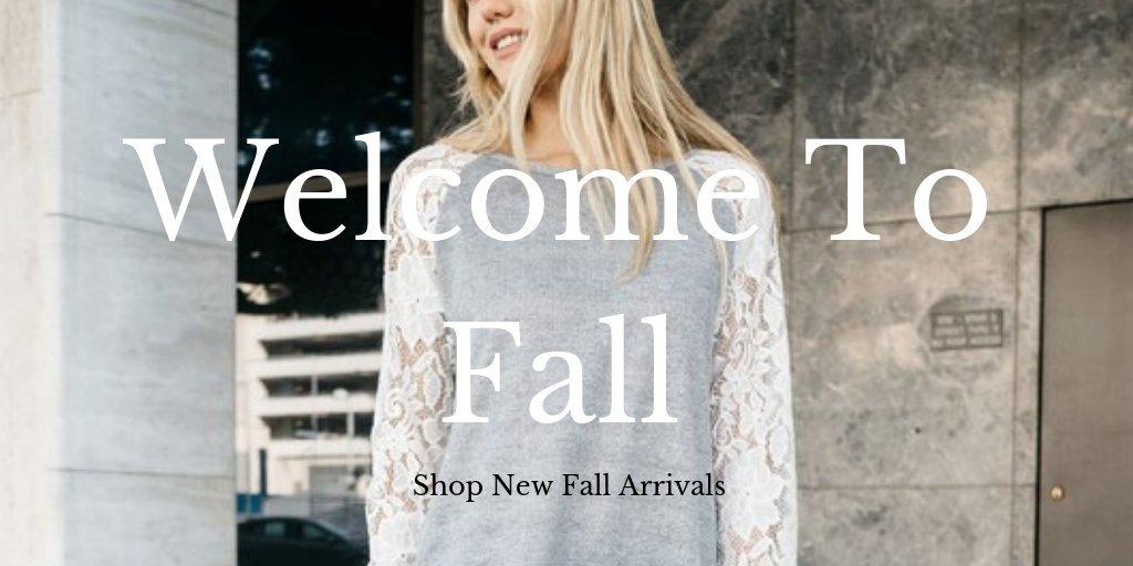 Shop Fall Styles