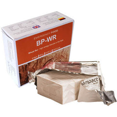 BP-WR Emergency Food Ration Wheat Bars - 2432 CALORIES