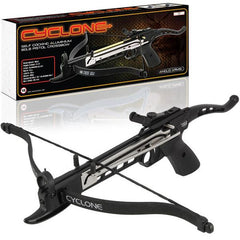 80lb Anglo Arms Cyclone Aluminum Self-Cocking Pistol Crossbow - World War Supplies
