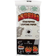 Hammaro Lighting Paper Tinder Card - World War Supplies