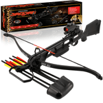 175LB Anglo Arms Jaguar MKII Crossbow with Red Dot Sight & Accessories