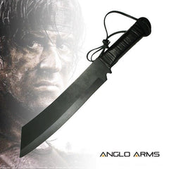 Deluxe 'Rambo IV' Style Knife (K-SUR-4) - World War Supplies
