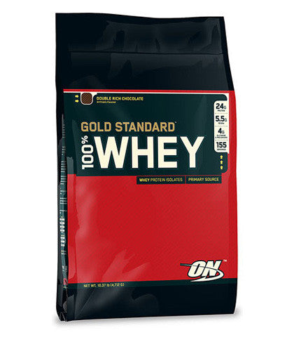 100% Gold Standard – Optimum Nutrition Whey Protein - 10lb Sack - SupplementsHK