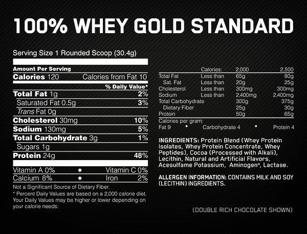 Prtotein - 100% Gold Standard – Optimum Nutrition Whey Protein