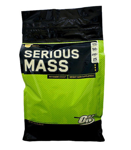 Weight Gain - Serious Mass – Optimum Nutrition