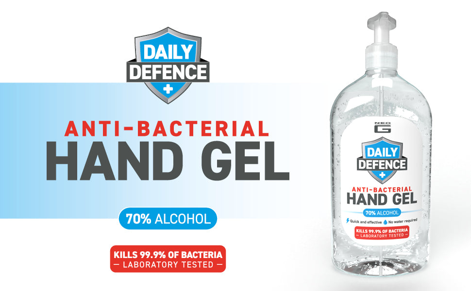 Neo G Daily Defence Anti Bacterial Hand Gel
