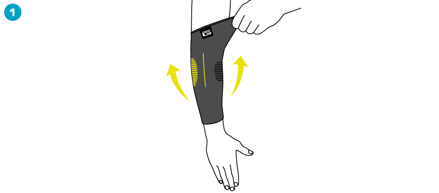How To Apply - Active Elbow Support