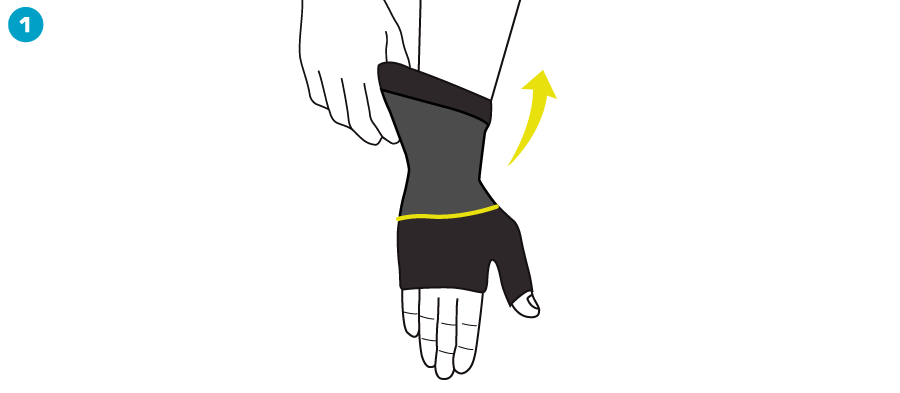 How To Apply - Active Wrist Support