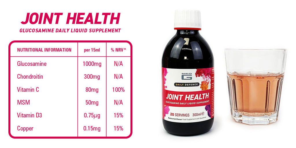 Neo G Daily Defence Joint Health Liquid Supplement