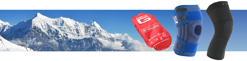 What is the best knee support for skiing