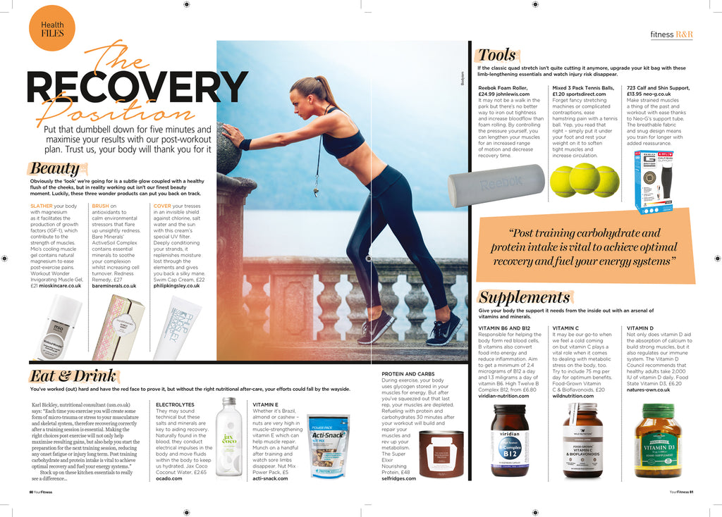 Neo G in Your Fitness Magazine June 2016