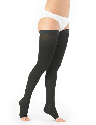 Neo G Thigh High Compression Hosiery (Open Toe)