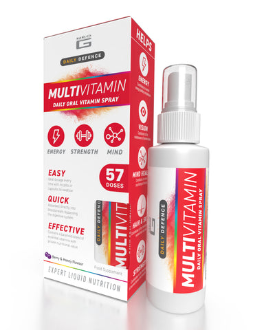 Neo G Daily Defence – MULTIVITAMIN – Daily Oral Vitamin Spray