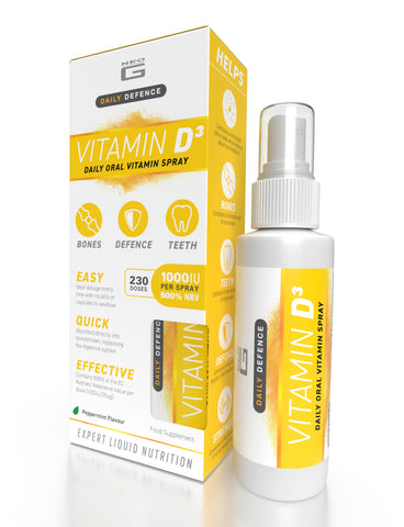 Neo G Daily Defence – VITAMIN D3 – Daily Oral Vitamin Spray