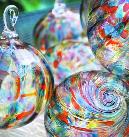 Unity Ceremony Ideas Glass Ornaments
