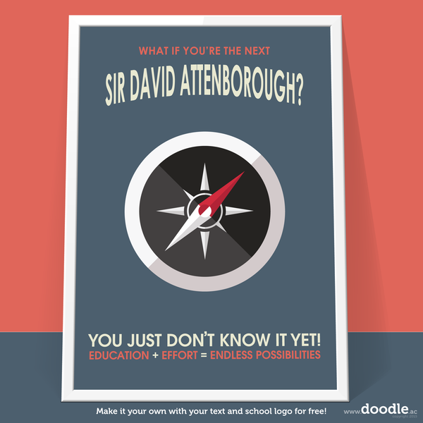 attenborough poster