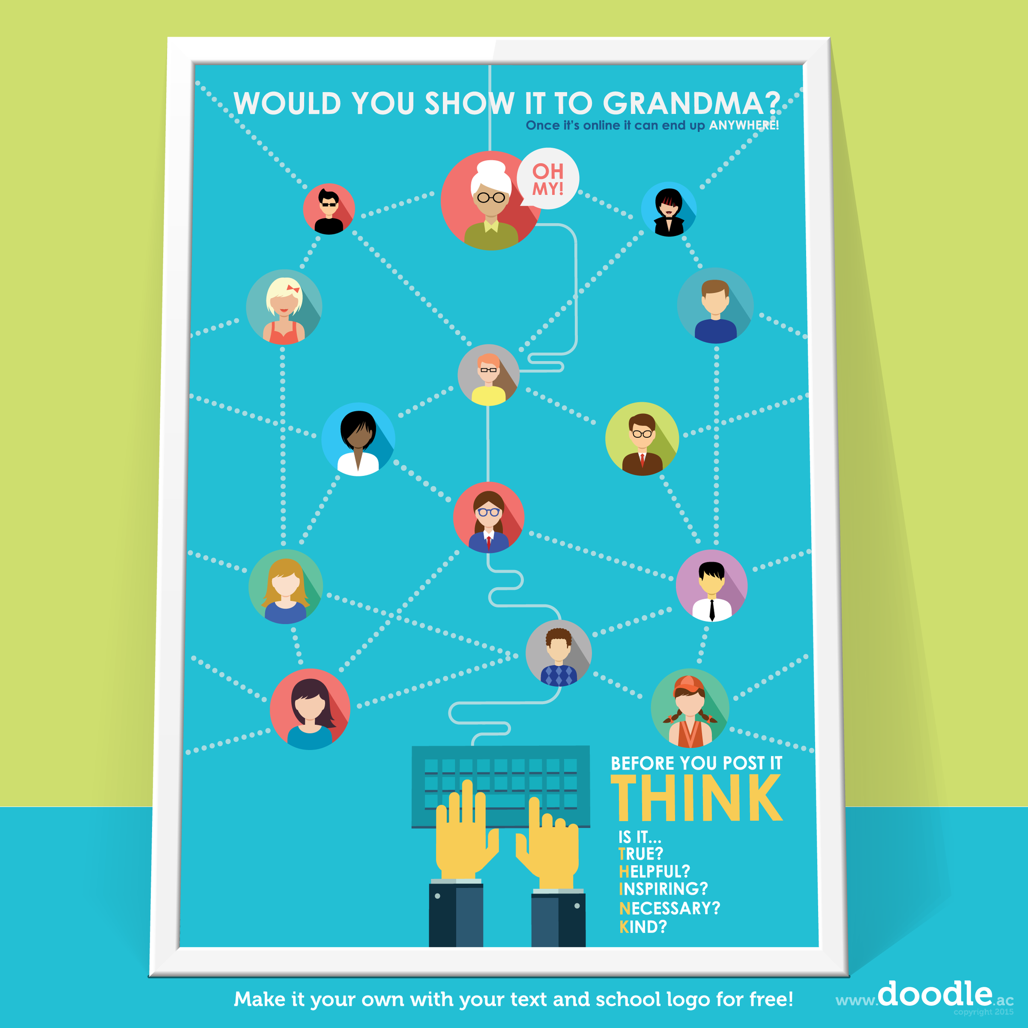 would you show grandma? poster - doodle education