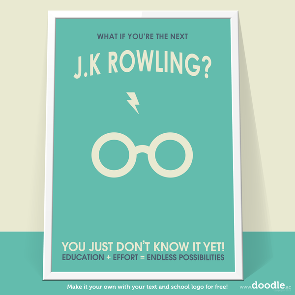 rowling poster