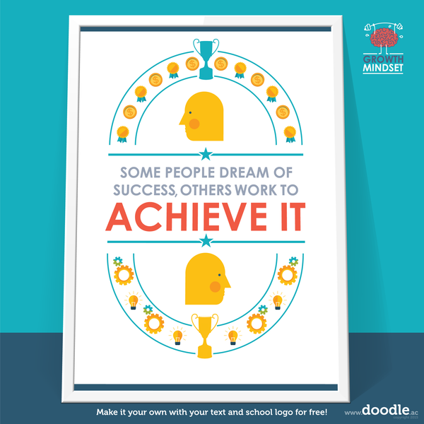 achieve it poster