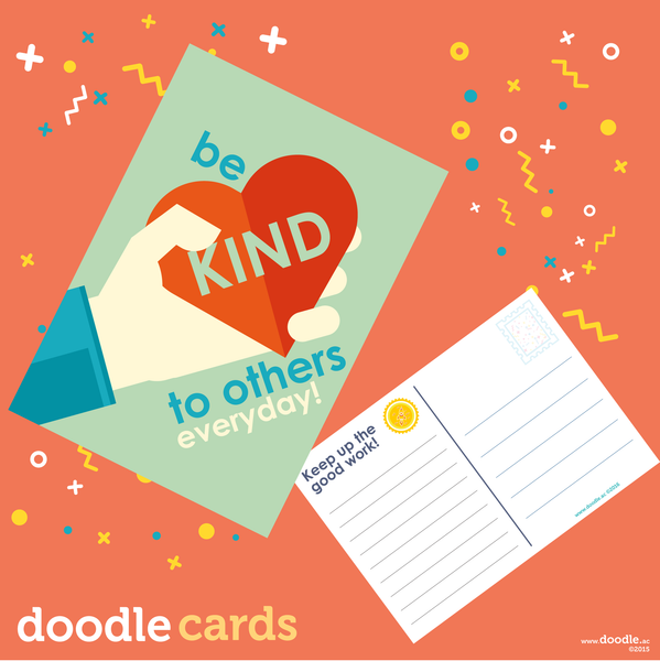 be kind everyday doodle cards