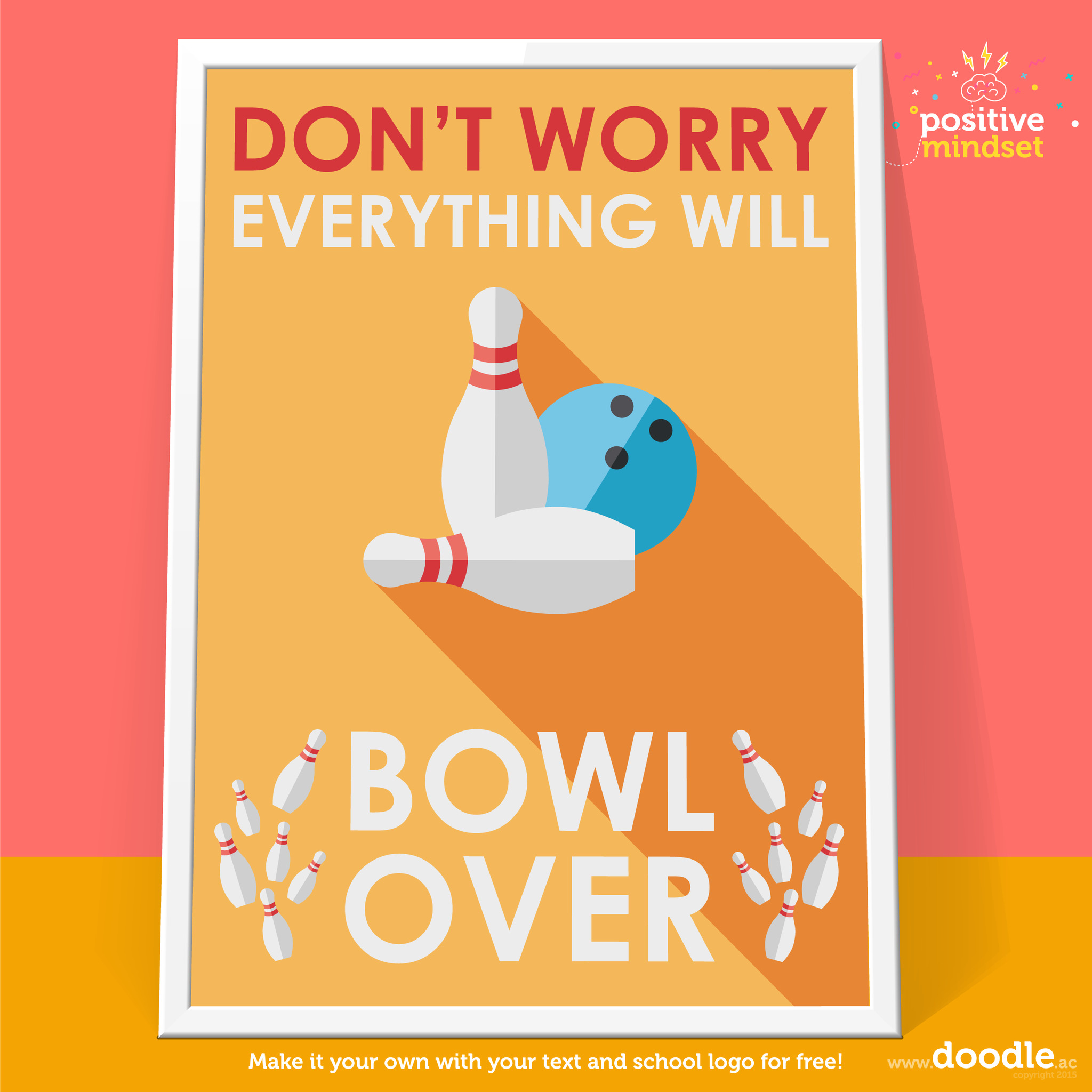 bowl over poster - doodle education