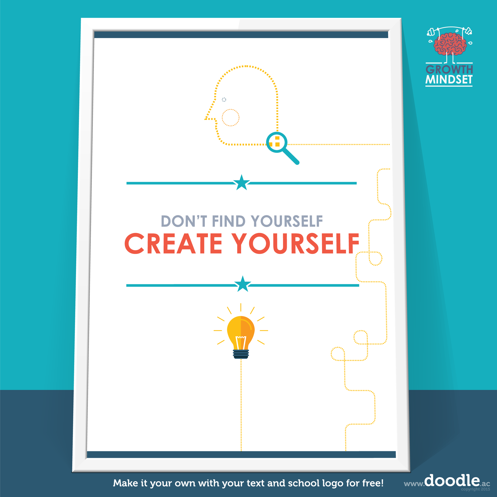 create yourself poster - doodle education
