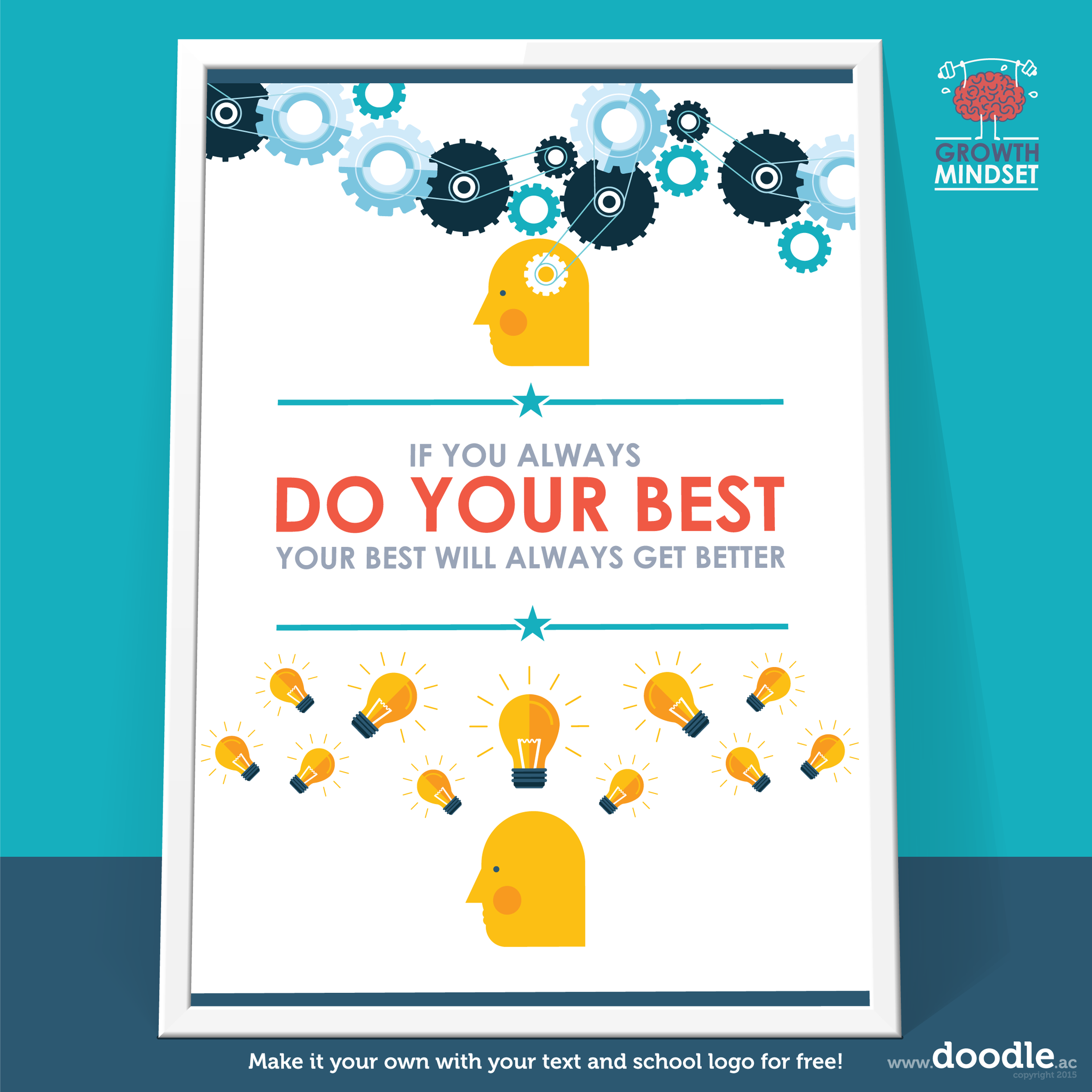 do your best poster - doodle education