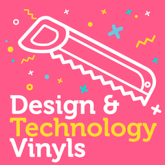 Design and Technology Vinyl - doodle education - 1