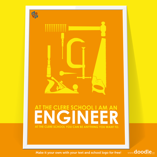 I am an engineer poster
