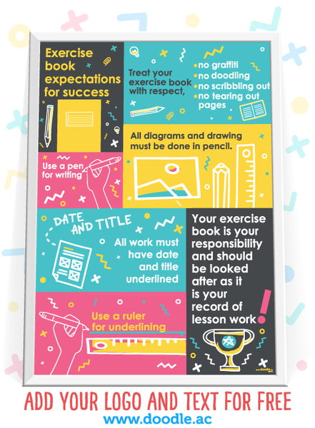 book expectations poster