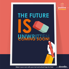 future is coming poster - doodle education