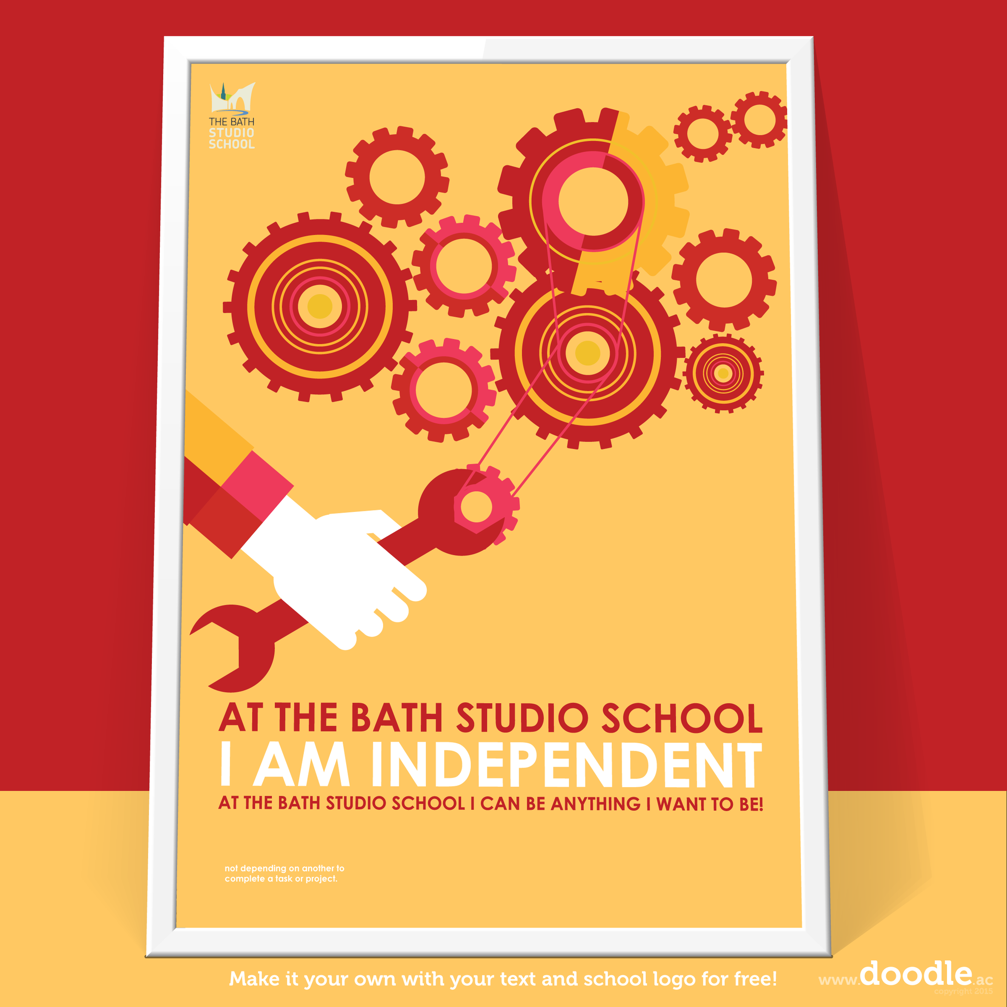 I am independent - doodle education
