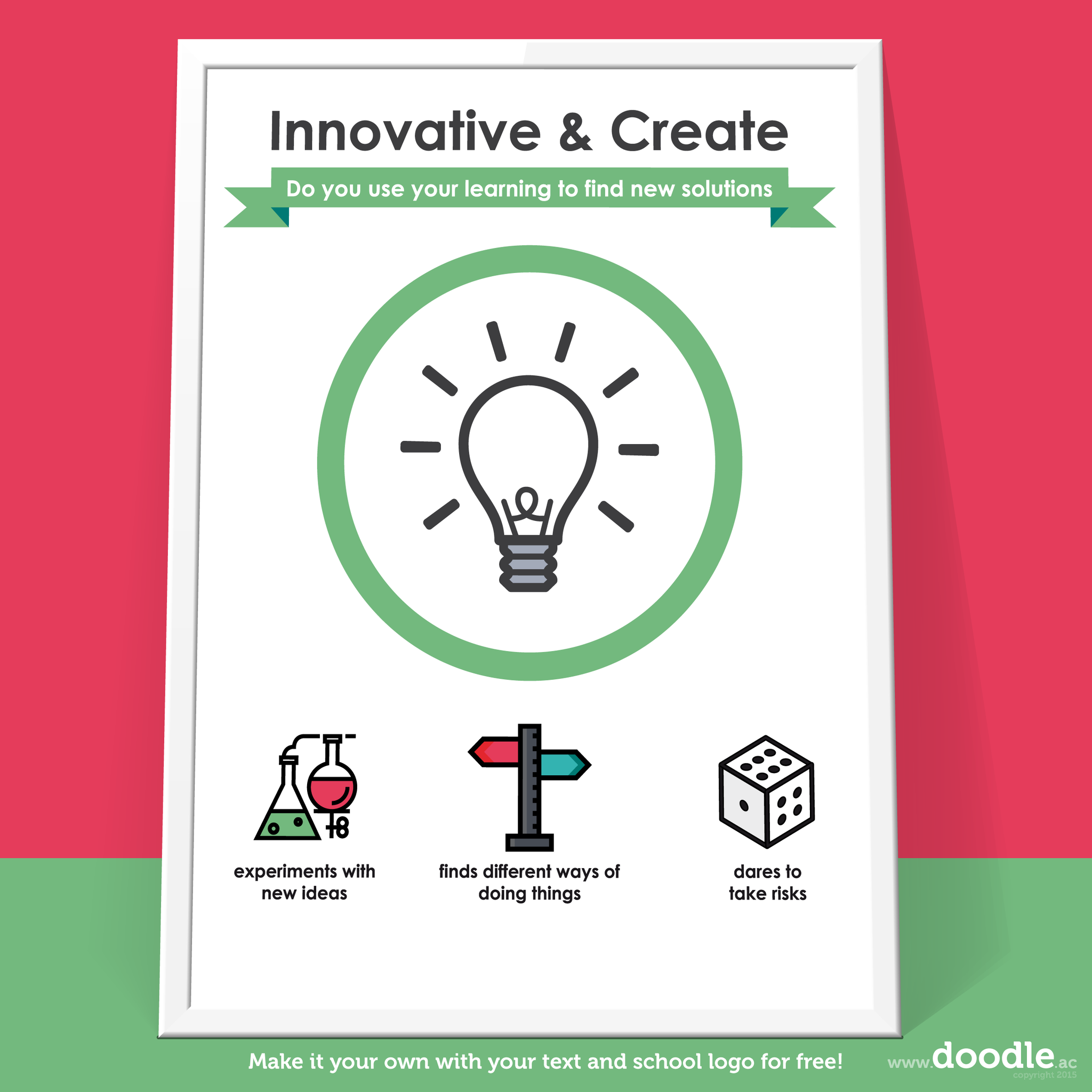 innovator poster - doodle education