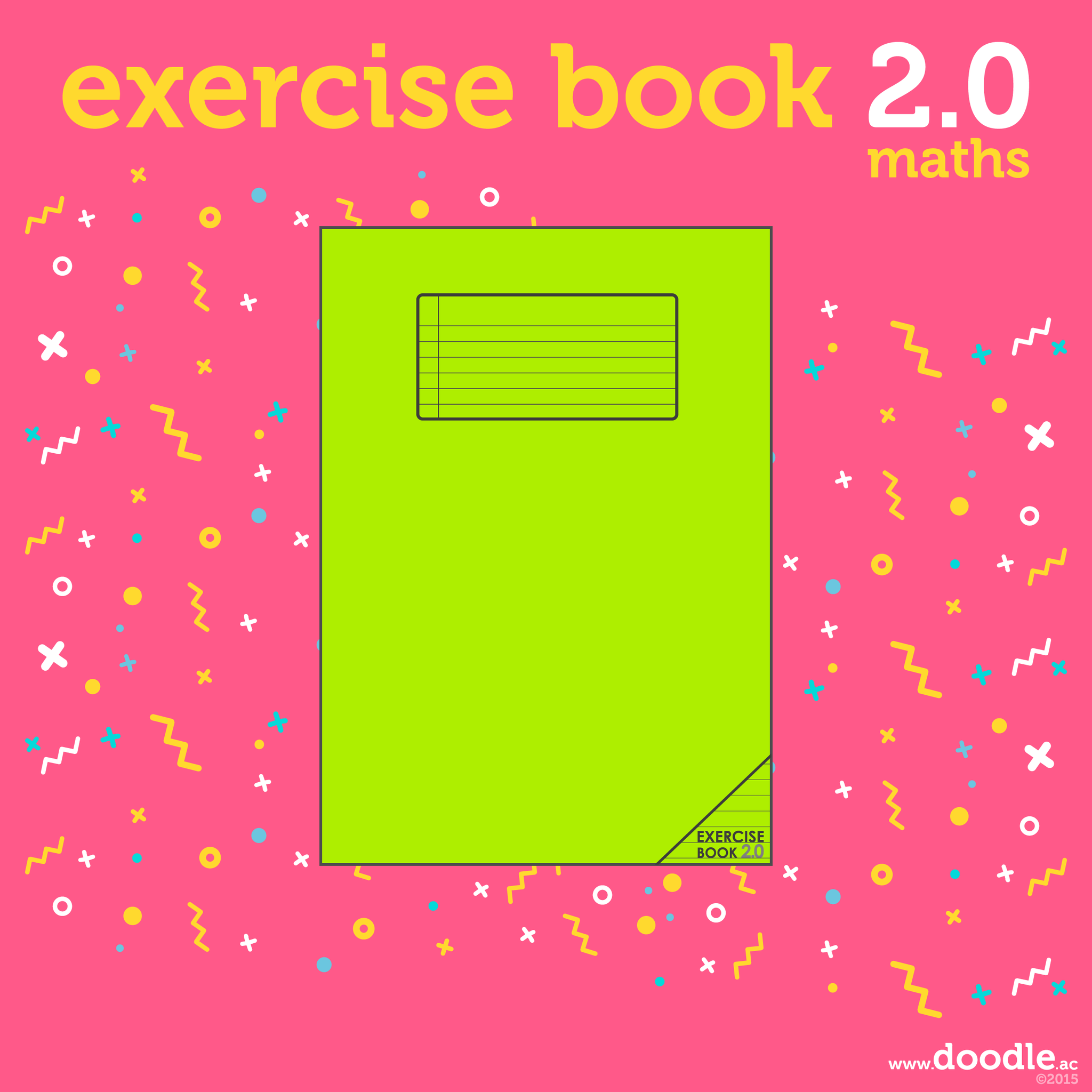 exercise book 2.0 (maths) - doodle education - 1