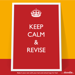 revise poster - doodle education