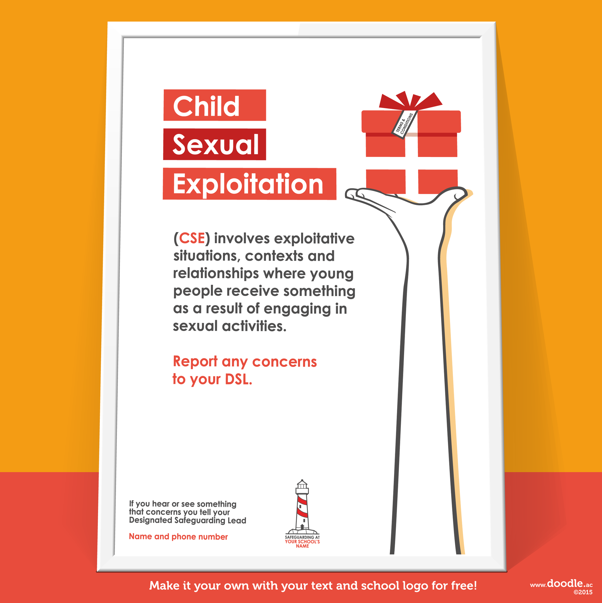 Sexual Exploitation Poster - doodle education